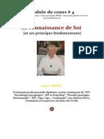Inscription - Cadeau 4 - La Connaissance de Soi