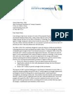 Office of Enterprise Technology letter to MN Senate