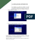 PASOS PARA LA INSTALACION DEL SOFTWARE S7-300