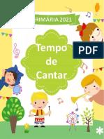 Caderno Tempo de Cantar - 2021 - Editável