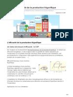 Energieplus-lesite.be-évaluer Lefficacité de La Production Frigorifique