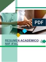 RESUMEN ACADÉMICO NIIF IFAC