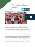 Pedro Castillo regenera el mapa político peruano. Eduardo Giordano