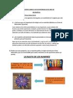 03-06 PRÁCTICA ESCRITA SOBRE EL USO DE MATERIALES EN EL ÁREA DE