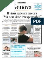 La Repubblica Genova 03 Aprile 2020