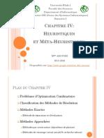 chapitre4heuristiquesetmta-heuristiques-160202125547
