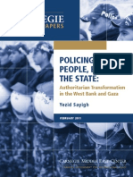 Policing the People, Building the State