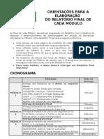 Relatório Final do Módulo 1.2