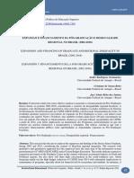Expansão e Financiamento Da Pós-graduação e Desigualdade Regional No Brasil (2002-2018)