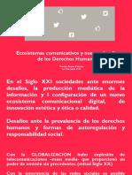 Ecosistemas comunicativos y nuevos desafíos  de los Derechos Humanos