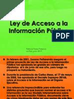 ACCESO  LA INFORMACION PUBLICA