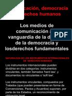 Comunicación, Democracia  y Derechos Humanos