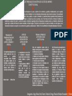 MAPA CONCEPTUAL COMPETENCIA DE LOS TRIBUNALES EN MATERIA DE ACCION DE AMPARO CONSTITUCIONAL