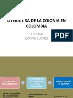 LITERATURA DE LA CONQUISTA EN COLOMBIA