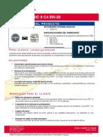 TDS_TOTAL_CLASSIC 9 C4 5W-30_TB2_202007_ES_ESP