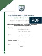 UNIVERSIDAD NACIONAL DE FRONTERA TRABAJO DE INVESTIGACIÓN TAPABOCAS PERSONALIZADAS