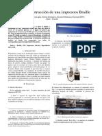 Diseño y Construcción de una Impresora Braille