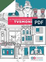 Brochure Francais Professionnel TV5MONDE 0