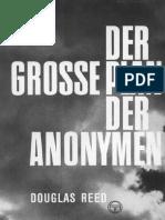 Douglas Reed - Der Große Plan Der Anonymen (1951)