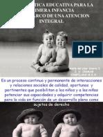politica para la primera infancia