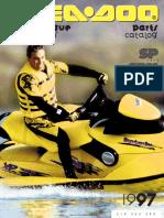 1997 Seadoo Sp Parts Catalog