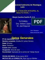 ATENCION INTEGRAL AL ADULTO NIVEL 1 (Presentación de caso)