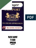 Passeport de Prière Pour Écraser l'Oppression