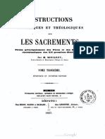Instructions historiques et théologiques sur les sacrements (t. 3) - M. Boucarut
