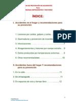 PREVENCIÓN DE ACCIDENTES PARA PERSONAS DEPENDIENTES Y MAYORES