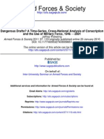 A Time-Series, Cross-National Analysis of Conscription and the use of militar force 1946-2001