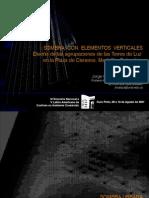 Huellas de Sombra PLAZA CISNEROS. ENCAC 2007 - Presentación