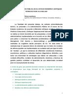3.3. La Administracion Publica en El Estado Moderno