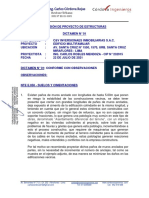 DICTAMEN N° 01 - ESTRUCTURAS PORTOFINO - SANTA CRUZ