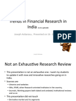 financial research ppt