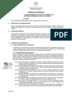 TDR Mantenimiento de bombas PNJ GG 250521FFFFFFFFFFFFFFFFFF