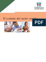 Los Cuidados Del Recien Nacido