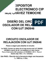 Circuito Oscilador de Relajación Con Ujt 2n2646