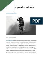 Ezequiel Fernández Moores - Mujer negra de caderas anchas