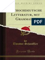 Althochdeutsche Litteratur Mit Grammatik 1100111771