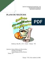 Plano negócio cafeteria