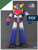Grendizer Did3D Assembly Manuel V2