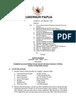 Se Gub Papua - Ppkm Covid 19 - Tgl 3 Agustus 2021