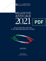 AGCOM - Relazione annuale 2021