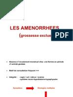 Amenorhées primitives