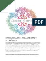 RITUALES PARA EL AREA LABORAL Y ECONOMICA