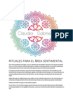 RITUALES PARA EL AREA SENTIMENTAL