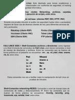 CLASE N° 5 COMANDOS KALI LINUX  HACKIN ETICO
