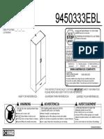 Ameriwood 9450333EBL Manual En