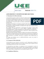 ANTECEDENTES Y CONCEPTOS DE MERCADOCTENIA