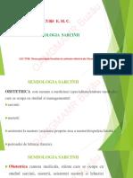 Semiologia-sarcinii